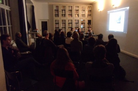 Pasolini & Late Modernism, artists talk with Maria Iorio, Raphaël Cuomo, Tobias Hering; Photo Jochen Becker
